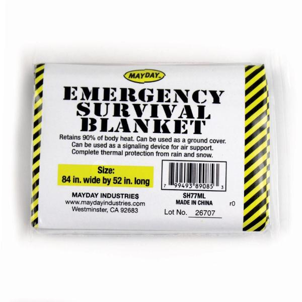 Emergency Survival Blankets (Case of 50)