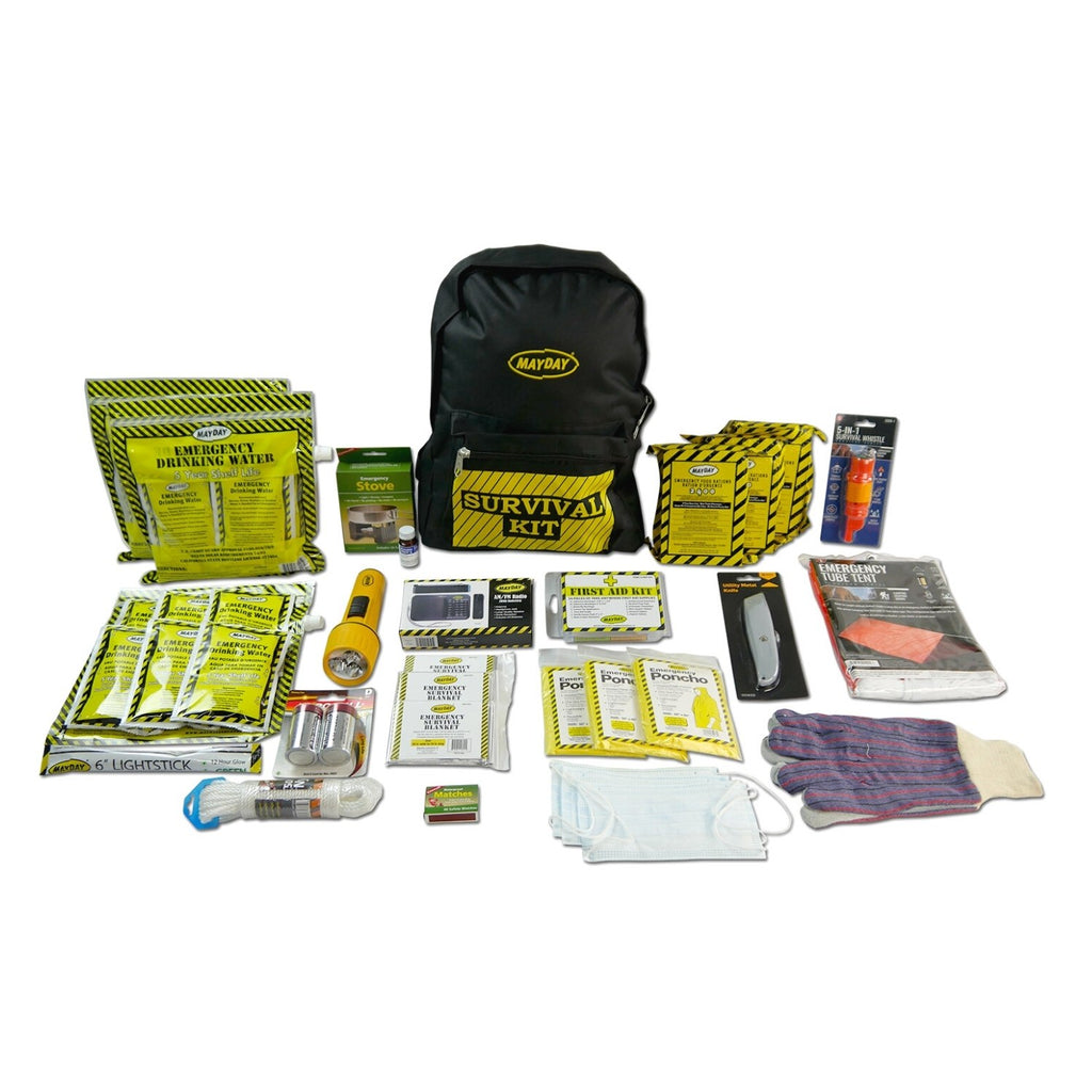 Deluxe 3 Person Survival Backpack + Contents