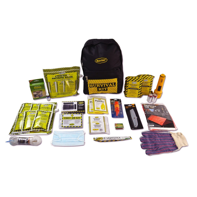 Deluxe 2 Person Survival Backpack + Contents