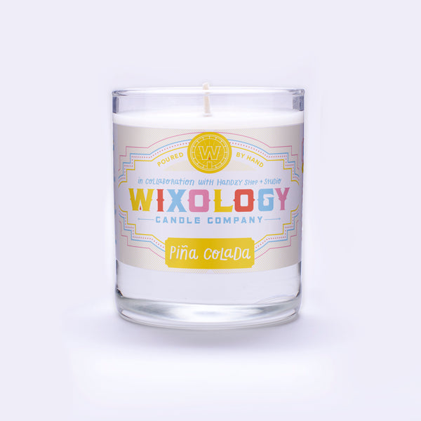 Piña Colada Handzy Shop Collaboration Candle (7 oz. glass)