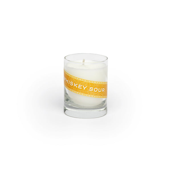 Whiskey Sour Candle (3 oz. shot glass votive)