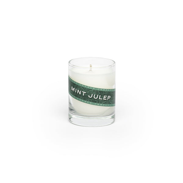 Mint Julep Candle (3 oz. shot glass votive)