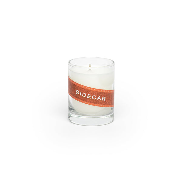 Sidecar Candle (3 oz. shot glass votive)