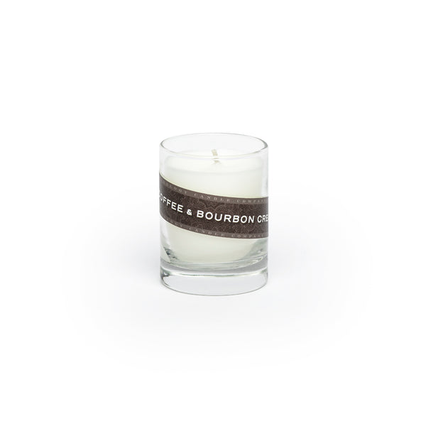Coffee & Bourbon Cream Candle (3 oz. shot glass votive)