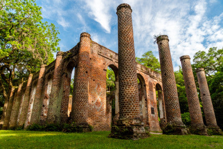 Beautiful Ruins of the Old Sheldon Church