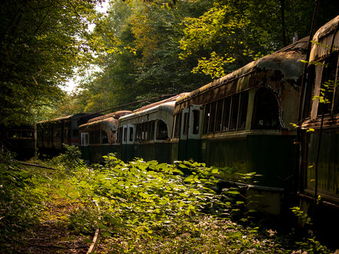 abandoned trains pennsylvania