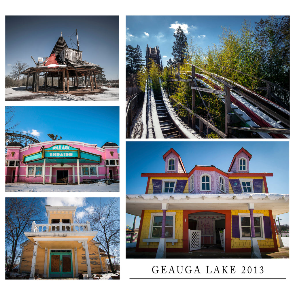 Geauga Lake 2013 Collage Print