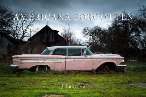 Americana Forgotten Hard Cover Book Book Johnny Joo