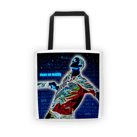 Down On Maddy Album Artwork Tote bag