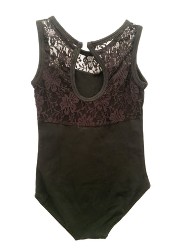 Child Lace Back Tank Leo