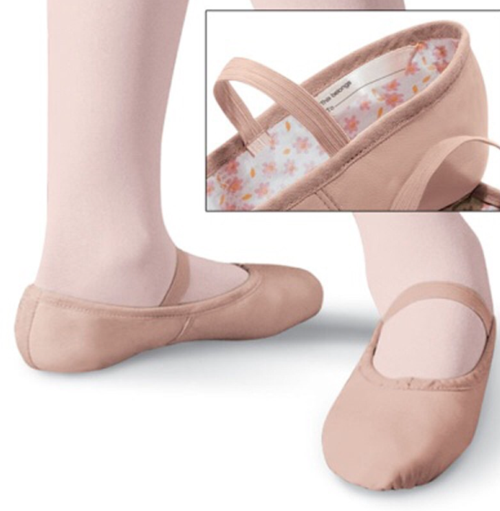 Leather Ballet Shoe