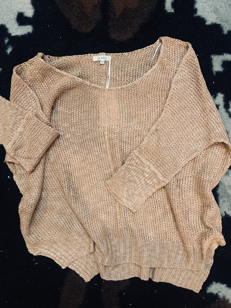 Making me Blush Sweater