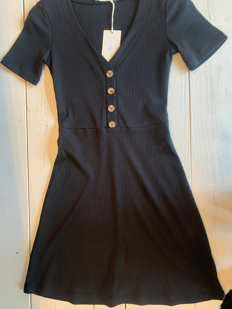 Button Baby Dress