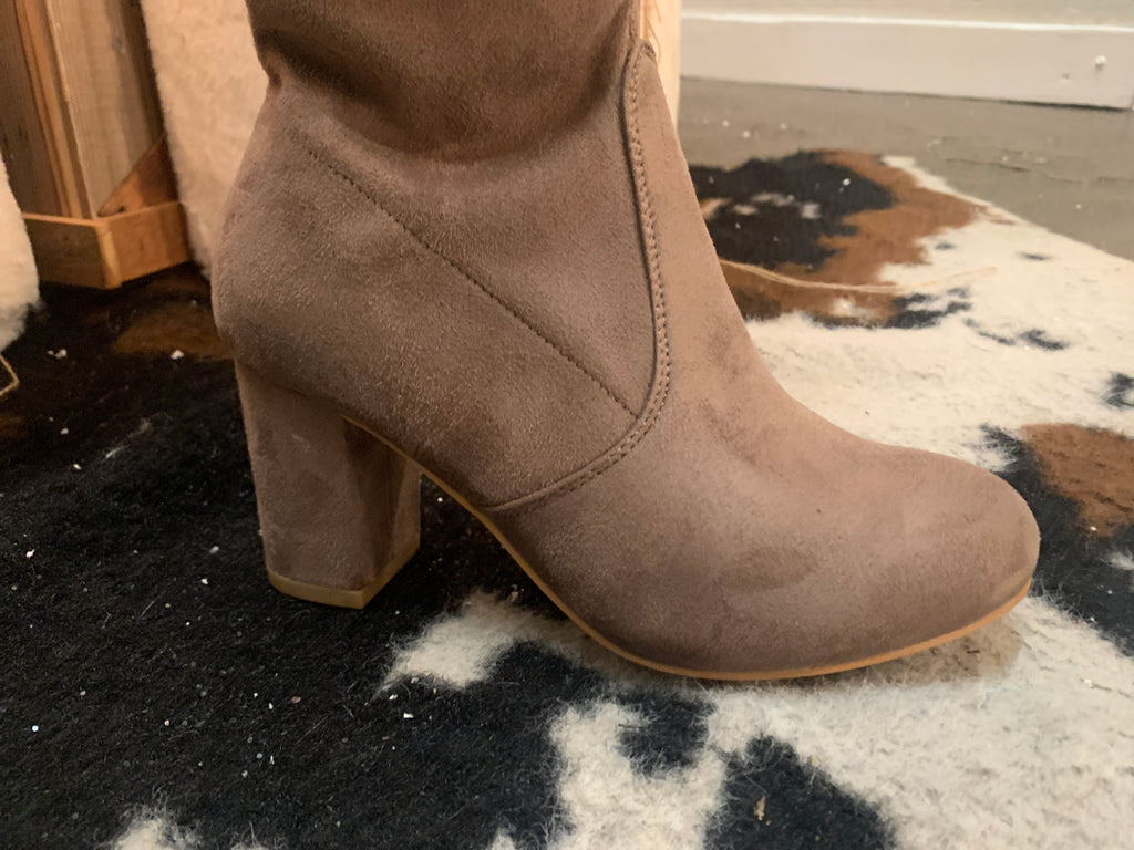 Over Again Boots (TAN)