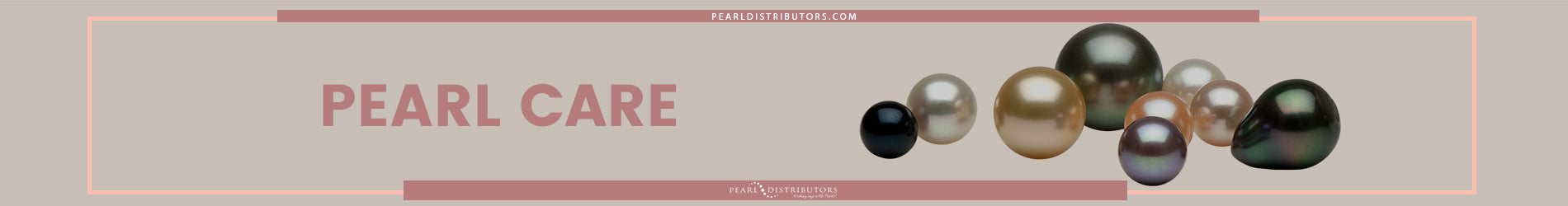 How to look after pearls