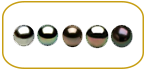 Tahitian Pearls Colors