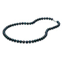 AA+ Quality Black Akoya Necklace, 6.5-7.0mm