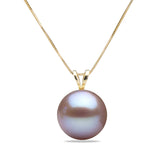 AAA Quality Lavender Freshwater Desiree Pearl Pendant, 6.5-11.0mm
