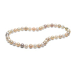 AAA Quality Multi-Color Freshwater Necklace, 8.5-9.0mm