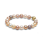 Multi-Color Freshwater Gem Grade Bracelet, 8.5-9.0mm