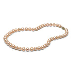 AAA Quality Pink Freshwater Necklace, 7.5-8.0mm