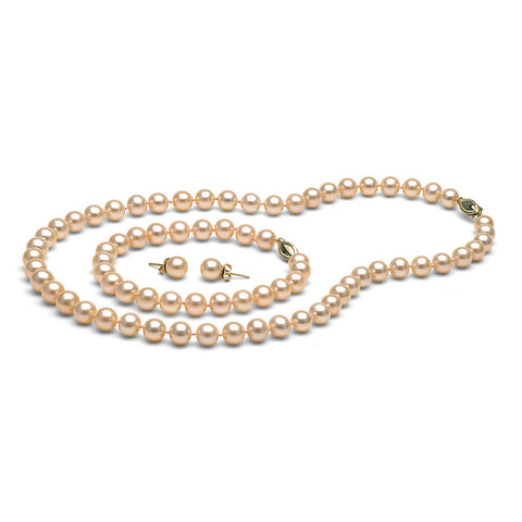 AAA Quality 7.0-8.0mm Freshwater Orient Cultured Pearls