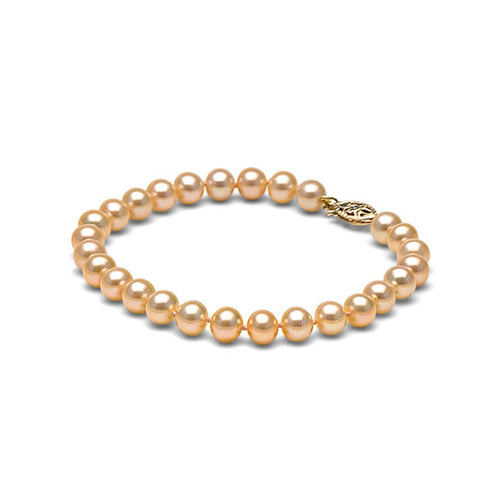 AAA Quality Pink Freshwater Bracelet, 6.5-7.0mm