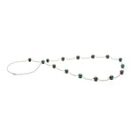 AA+ Quality 9.0-10.0mm Tahitian Pearl 36 inch Tin Cup Necklace