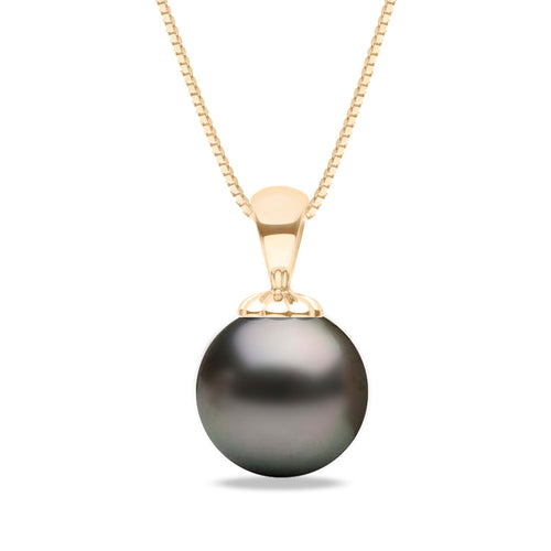 AA+ Quality Tahitian Obsession Pearl Pendant, 8.0-13.0mm