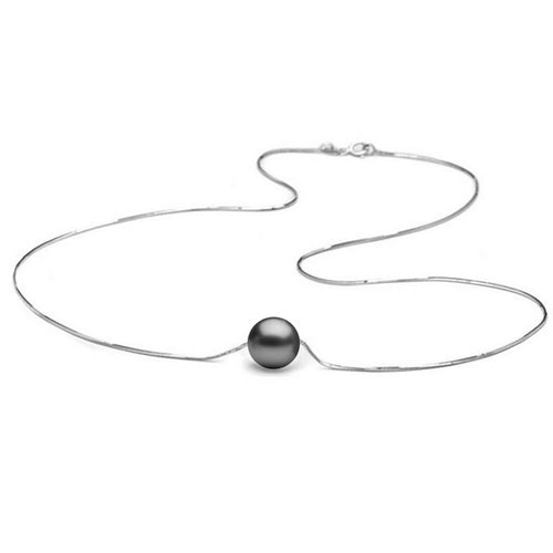 AA+ Quality Tahitian Solitaire Pearl Pendant, 8.0-11.0mm