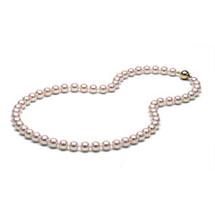 AAA Quality 7.0-7.5mm Akoya Cultured Pearl Necklace