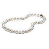 AAA Quality 9.0-9.5mm Akoya Cultured Pearl Necklace