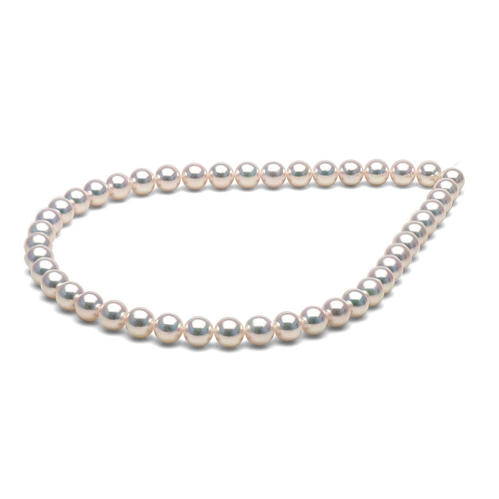 9.0-9.5mm Hanadama Saltwater Pearl Necklace