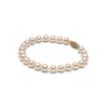 AA+ Quality 6.5-7.0mm White Freshwater Cultured Pearl Bracelet
