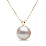 AA+ Quality White Akoya Desiree Pearl Pendant, 6.5-9.0mm