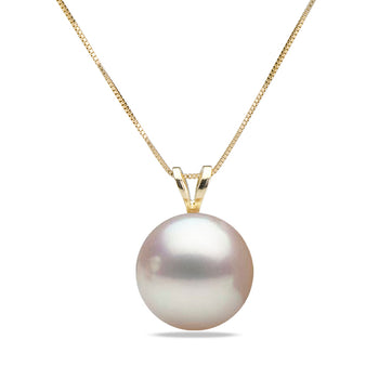 AAA Quality White Akoya Desiree Pearl Pendant, 6.5-9.0mm