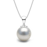 AAA Quality White South Sea Obsession Pendant, 9.0-15.0mm