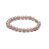 AAA Quality 6.5-7.0mm Lavender Freshwater Cultured Pearl Bracelet