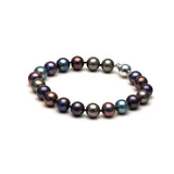 AA+ Quality Black Freshwater Bracelet, 8.5-9.0mm