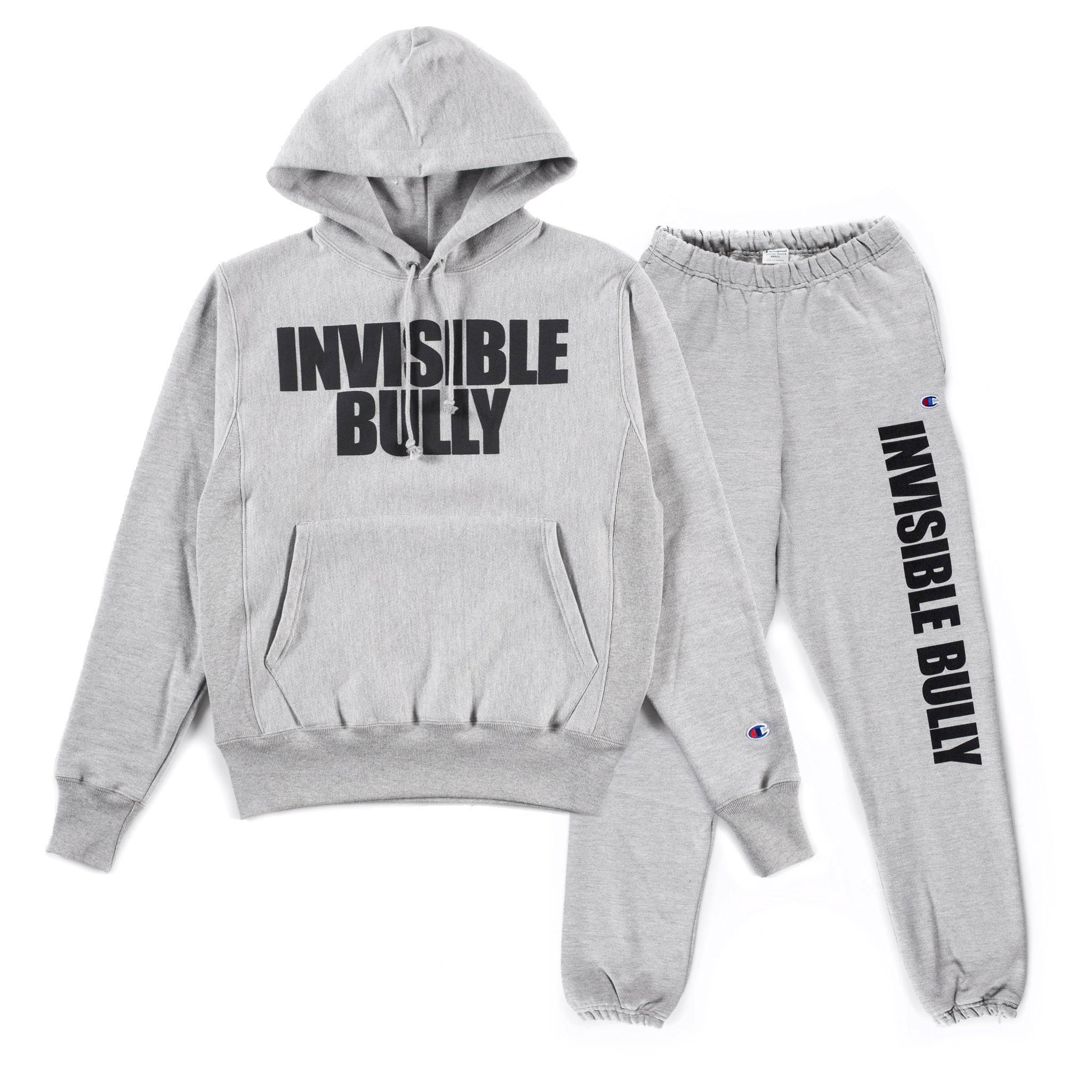 Invisible Bully x Champion Sweatsuit (Oxford Grey)