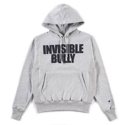 Invisible Bully x Champion Hoodie (Oxford Grey)