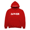 Lover Hooded Sweatshirt [Red]
