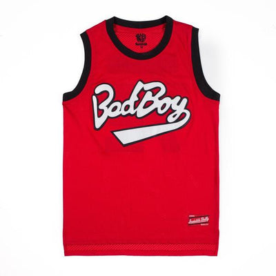 Bad Boy Mesh Basketball Jersey [Red]