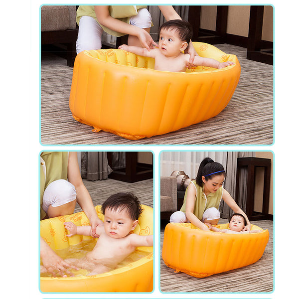 Inflatable Anti-Slippery Bath Pool ***FREE INSURED SHIPPING.