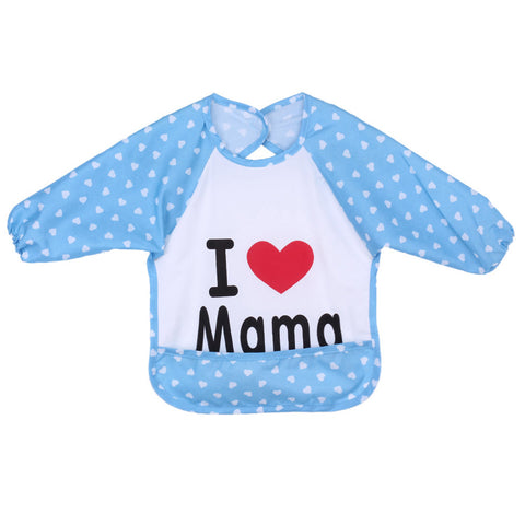 Baby To Eat Clothes Dressing Down Waterproof Overalls Bibs ***FREE INSURED SHIPPING.