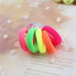100 pcs/pack 3cm Candy Colour Basic Rubber Band. ***FREE INSURED SHIPPING.