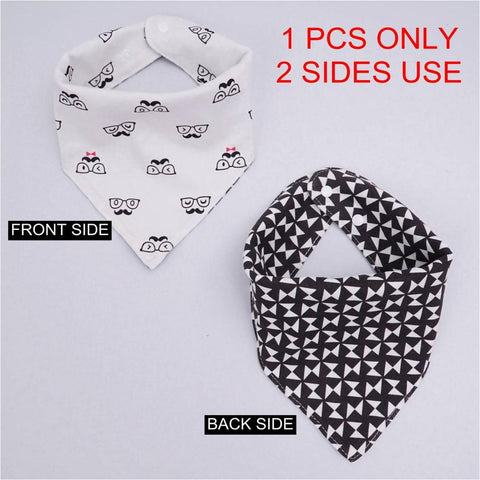 High quality cotton baby bibs ***FREE INSURED SHIPPING.