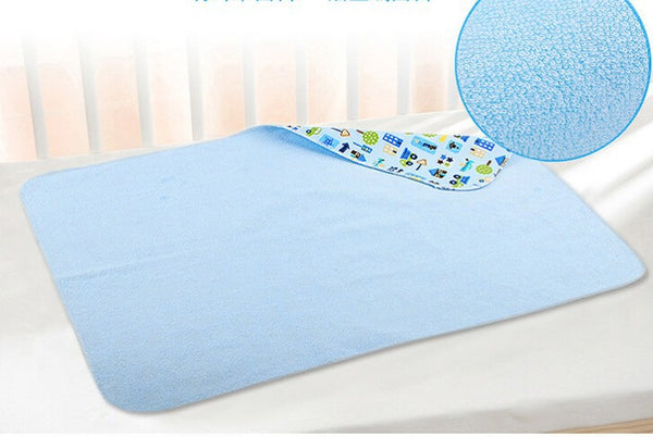 Cotton Reusable Waterproof Changing Mat