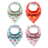 20 designs 4pcs/lot baby bibs Arrow animal cartoon cloths triangle ***FREE INSURED SHIPPING.