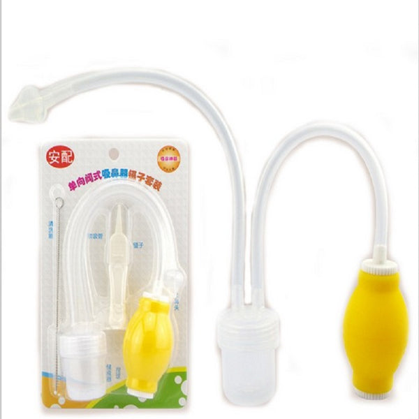 2017 New Newborn Nasal Vacuum Suction Nose Cleaner + Medical Tweezers ***FREE INSURED SHIPPING.
